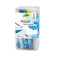 Set akvarel flomastera Aqua Solo Goya Powerpack All-in-one