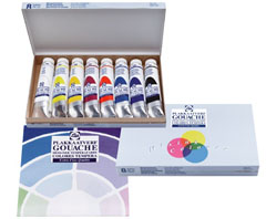 Tempere GOUACHE TALENS SET 8x20ml