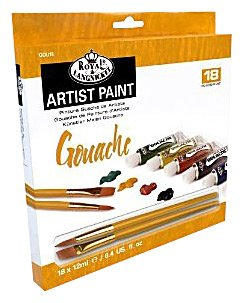 Gvaš boja ARTIST Paint 18x12ml