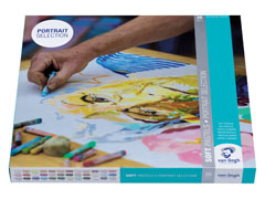 Set suvih pastela Portrait Selection Van Gogh -36 delni